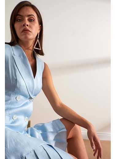 Setre Elbise Mavi